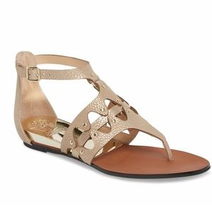 Vince Camuto Arlanian Sandals In Gold
